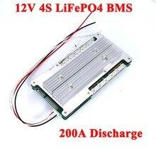 Batterie au Lithium 12V 4S BMS 3.2V LiFePO4 60A 100A 150A 200A pour carte PCB de système solaire de stockage d'énergie avec Balance