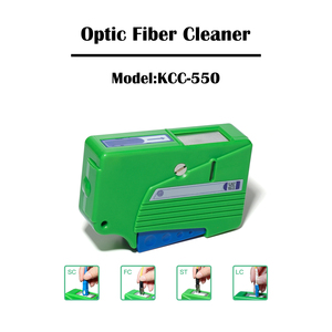Image 4 - 2 Pieces Optical Fiber Connector Cleaner KCC 550/KCC 600 Cassette FTTH Fiber Optic Tool Kit Ehernet Networking