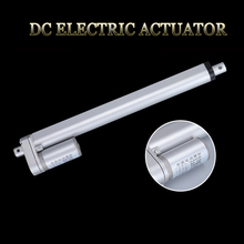 цена на Electric Linear Actuator 12V 24V 36V 48V 300mm Stroke 5-90mm/s Speed 100-1000N DC Metal Gear Electric Motor Linear Actuator