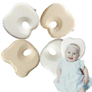 Baby Infants Sleep Positioner Anti Roll Cushion Flat Head Protection Pillow