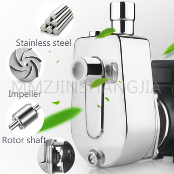 304 Stainless Steel Self-Priming Pump High Temperature Resistance Centrifugal Pump Preservative Pump Acid And Alkali Resistance недорого