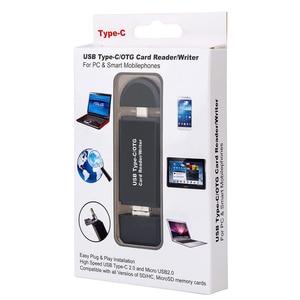Image 5 - SD Kartenleser USB C Kartenleser 3 In 1 USB 2.0 TF/Mirco SD Smart Memory Kartenleser Typ C OTG Stick Kartenleser Adapter
