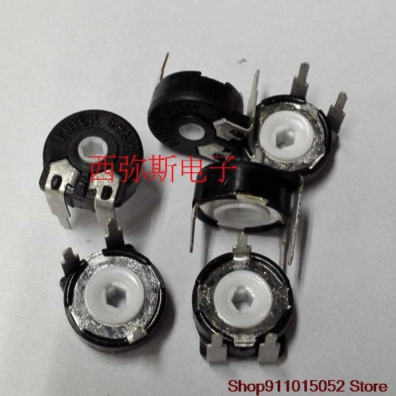 10 pces espanhol original plher 10 mm é potenciômetro ajustável PT10MV10-473 a2020 PT10-47 k
