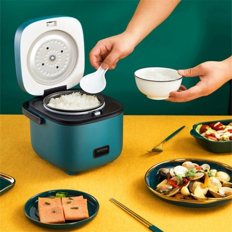 1.2L Мини электрическая плита риса Плита интеллигентая (ый) автоматический бытовой Кухня Плита 1-2 человек мелкие бытовые электрические риса П...