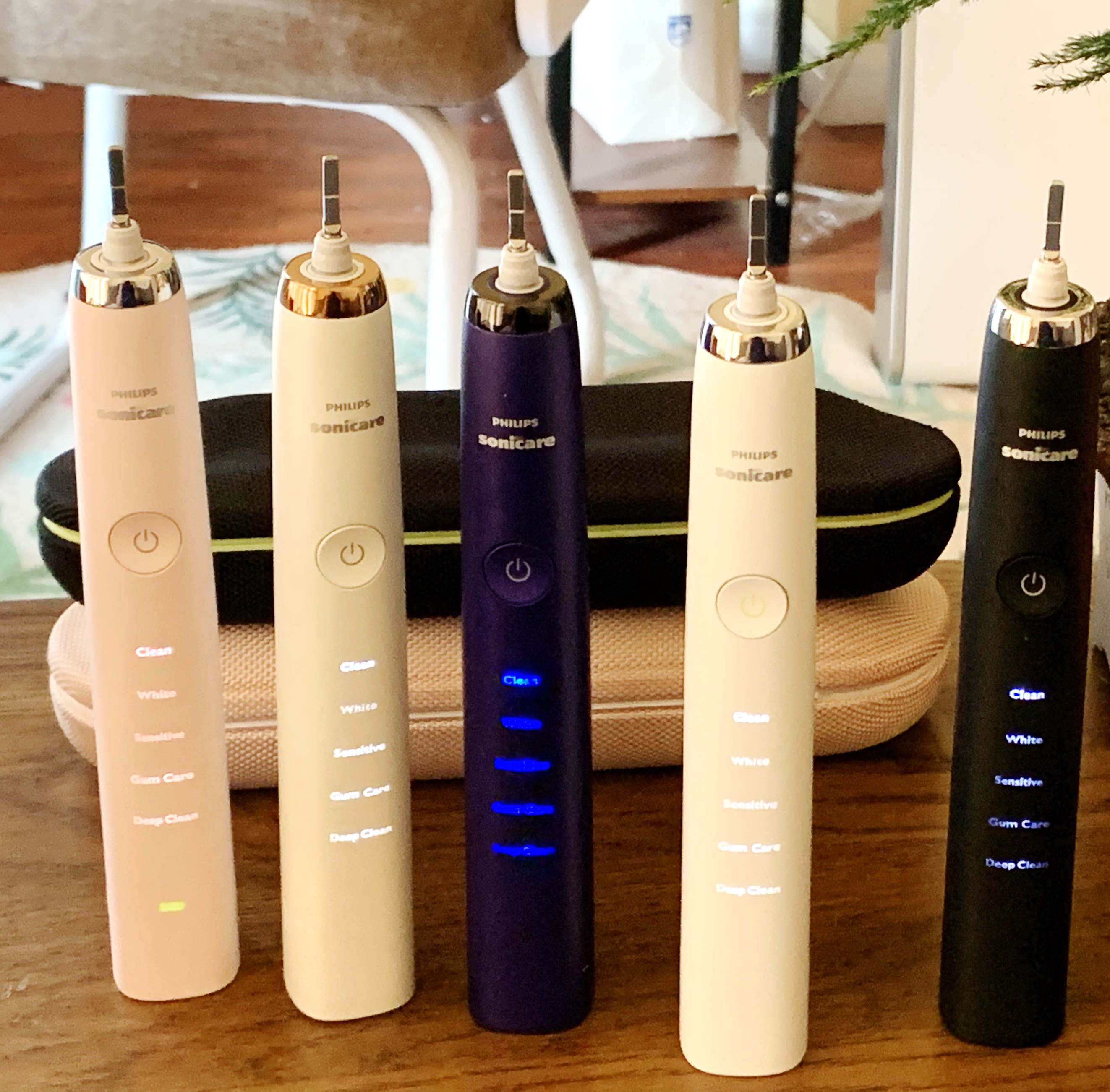 Электрическая зубная Щетка Sonicare для Philips Sonic, водонепроницаемая, 5 режимов, HX9340, обновленная, 4-го поколения, серия HX939, Алмазное отбеливание