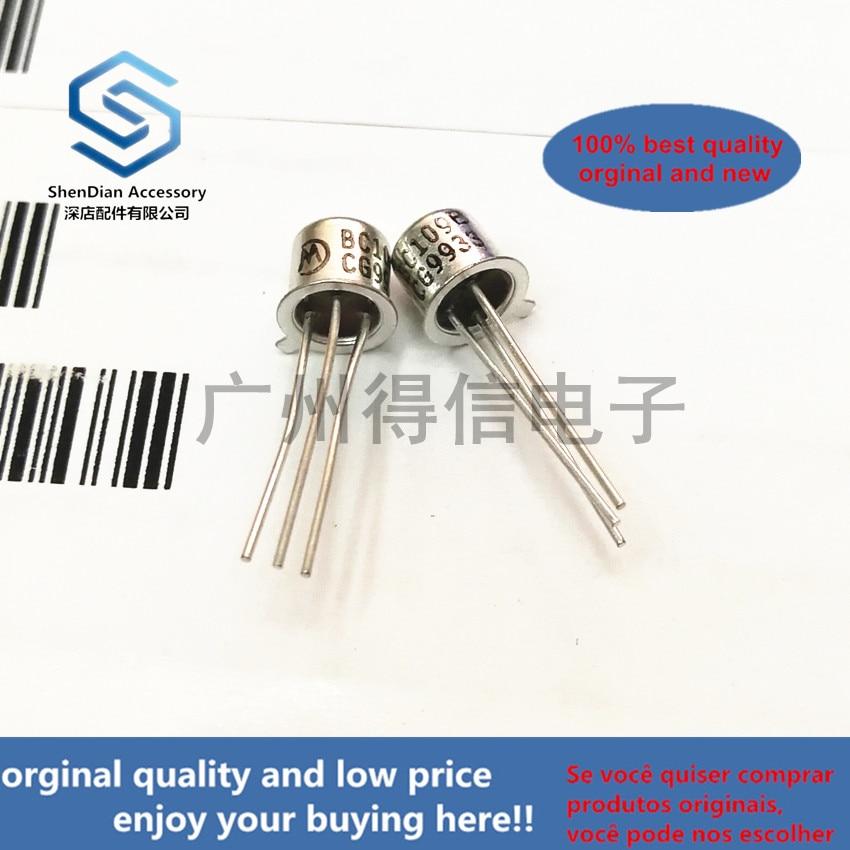 10pairs 100% Orginal New BC109B BC109 TO-18 Npn Sisicon Transistor  Real Photo