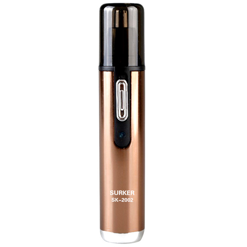 SURKER Sk-2002 2 In 1 Electric Nose Hair Trimmer Rechargeable Shaving Knife Reversible