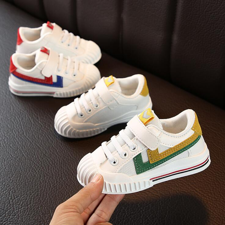 Hot SALE Children Sport Shoes Spring Autumn New Fashion Boys Running Shoes Baby Breathable Soft Bottom Toddler Shoes Girls Shoes