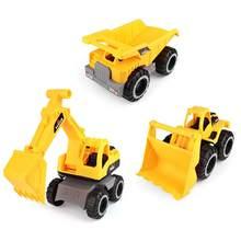 Novos grandes carros de brinquedo veículos de construção escavadoras caminhões de areia bulldozers fricção-driven crianças empurrar brinquedos presentes