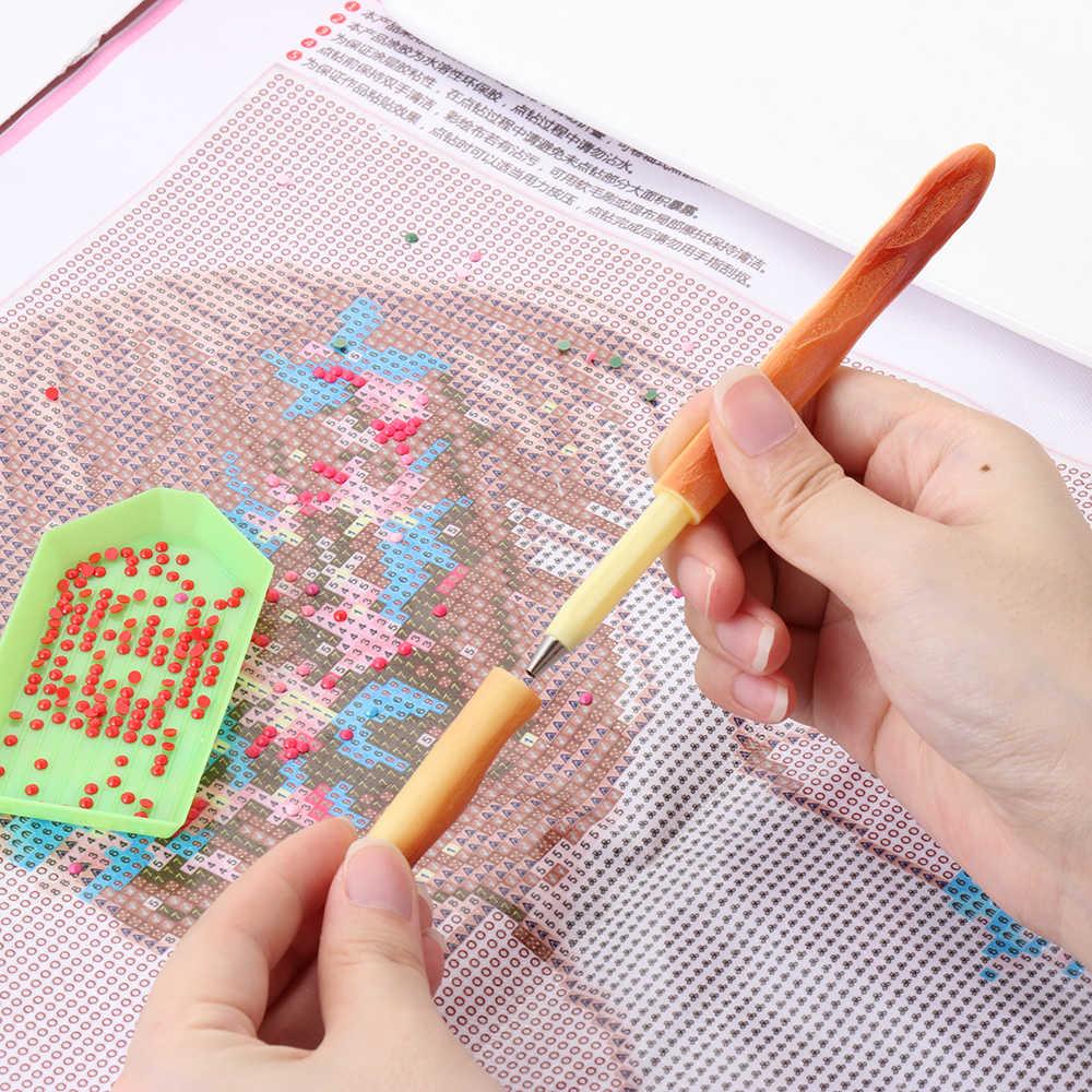 Diamant Malerei Stift Runde Platz Spitze Punkt Bohrer Stifte Für 5D Malerei mit Diamanten Zubehör DIY Kunst Handwerk Werkzeuge
