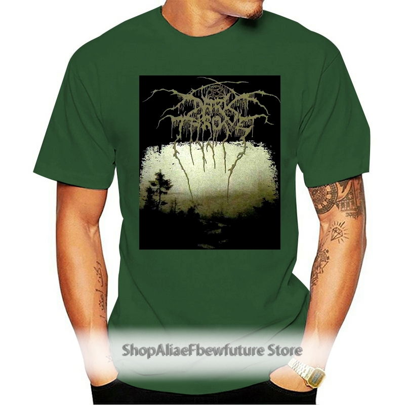Darkthrone Black Death Beyond Shirt S M L Xl Dark Throne Tshirt T-Shirt Short-Sleeved Tee Shirt