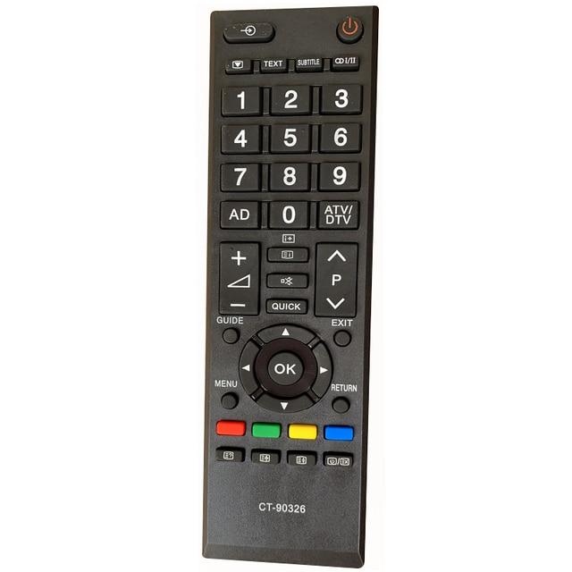 Yeni yedek uzaktan kumanda CT 90326 TOSHIBA 3D akıllı TV CT90326 CT 90380 CT 90386 CT 90336 CT 90351