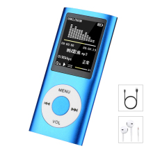 Hifi Mini Mp3 Player Music Sports Walkman with Earphone Fm Radio 1.8 Inch Tft Lcd Screen 16gb 32gb 64gb Micro SD TF Card