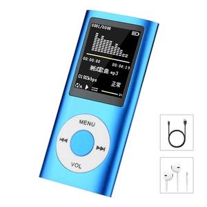Hifi Mini Mp3 Player Music Sports Walkman with Earphone Fm Radio 1.8 Inch Tft Lcd Screen 16gb 32gb 64gb Micro SD TF Card(China)