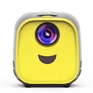 Image 3 - Mini Projector 480X320P Home Full Hd Led Film Projector L1 Video Projector Eu Plug