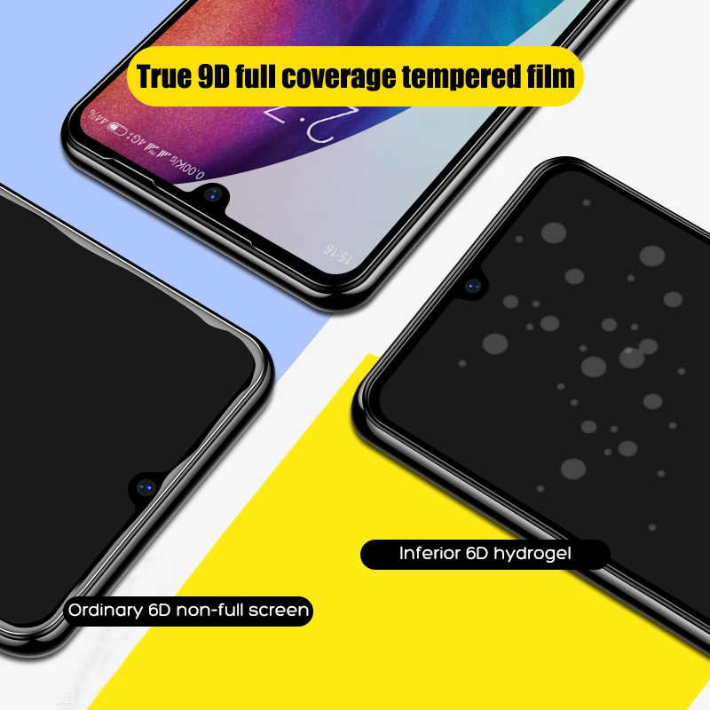 Image 2 - 9D Tempered Glass For Xiaomi Redmi note 5 6 7 Pro Screen Protector On The Redmi 6A 6 Pro Glass Protective Glass On Redmi Note 7-in Phone Screen Protectors from Cellphones & Telecommunications