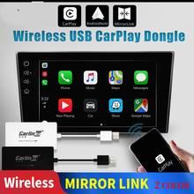 Carlinkit Carplay A3 Wireless for Apple Navigation Adaptador Android Auto Dongle Car Play Iphone USB WIFI Bluetoot Mirror Link