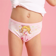 4 Pcs Lot Girls Briefs Soft Cotton Children Panties Lovely Cute Cartoon Baby girls Underwear Breathable Girl Panties For 2-12Y cheap wuruotim SJ-3 Fits true to size take your normal size Blue Yellow Purple Pink Rose 4 Pieces Lot S M L XL 2-12Yrs Girls