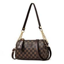2019 Luxury Leather Women Handbags Brand Design Women Bags High Quality Shoulder Bag Crossbody Geometric print Pillow Bag Tote stylish geometric print and zipper design women s tote bag