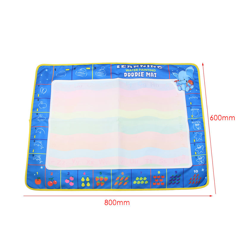 New Products Large Size Cp1380 Children Water Magic Water Canvas Doing Homework Graffiti Painted Water Canvas OPP Bag