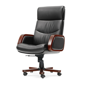 цена на Hot Middle Back Rotatable Computer Chairs Leather Wood Armrest Gaming Chair Office Furniture Ergonomic Office Chair