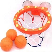 Баскетбол обруч Ванна игрушка на присосках набор для детей детская игра под открытым небом развитие мальчика интересный Крытый спортивный ...