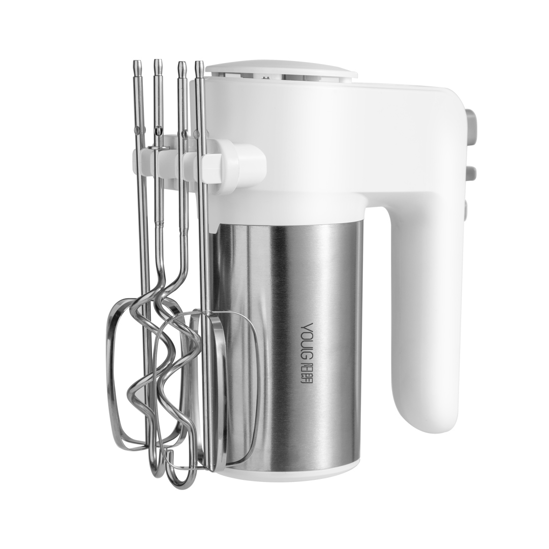 YOULG YG9106 Electric Egg Beater 300W 6 Speed Control Egg Milk Flour Drink Electric Mixer Kitchen Cooking Baking Tool
