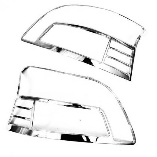 Chrome Styling Tail Light Cover For Toyota Yaris Second Generation 2005 2011 Sedan|tail light covers|chrome yaris|cover toyota yaris - title=