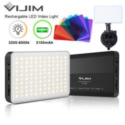 Ulanzi VL120 светодиодный видео светильник на Камера фотостудия светильник ing Vlog конференции лампа Youtube Live заполнить светильник Sucktion светильник