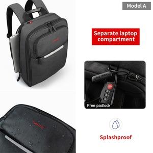 Image 2 - Tigernu Giảm Giá Lớn Nam 15.6Inch Chống Trộm Laptop Túi Thời Trang USB Ba Lô Nam Du Lịch Ba Lô Đi Học Cho nam