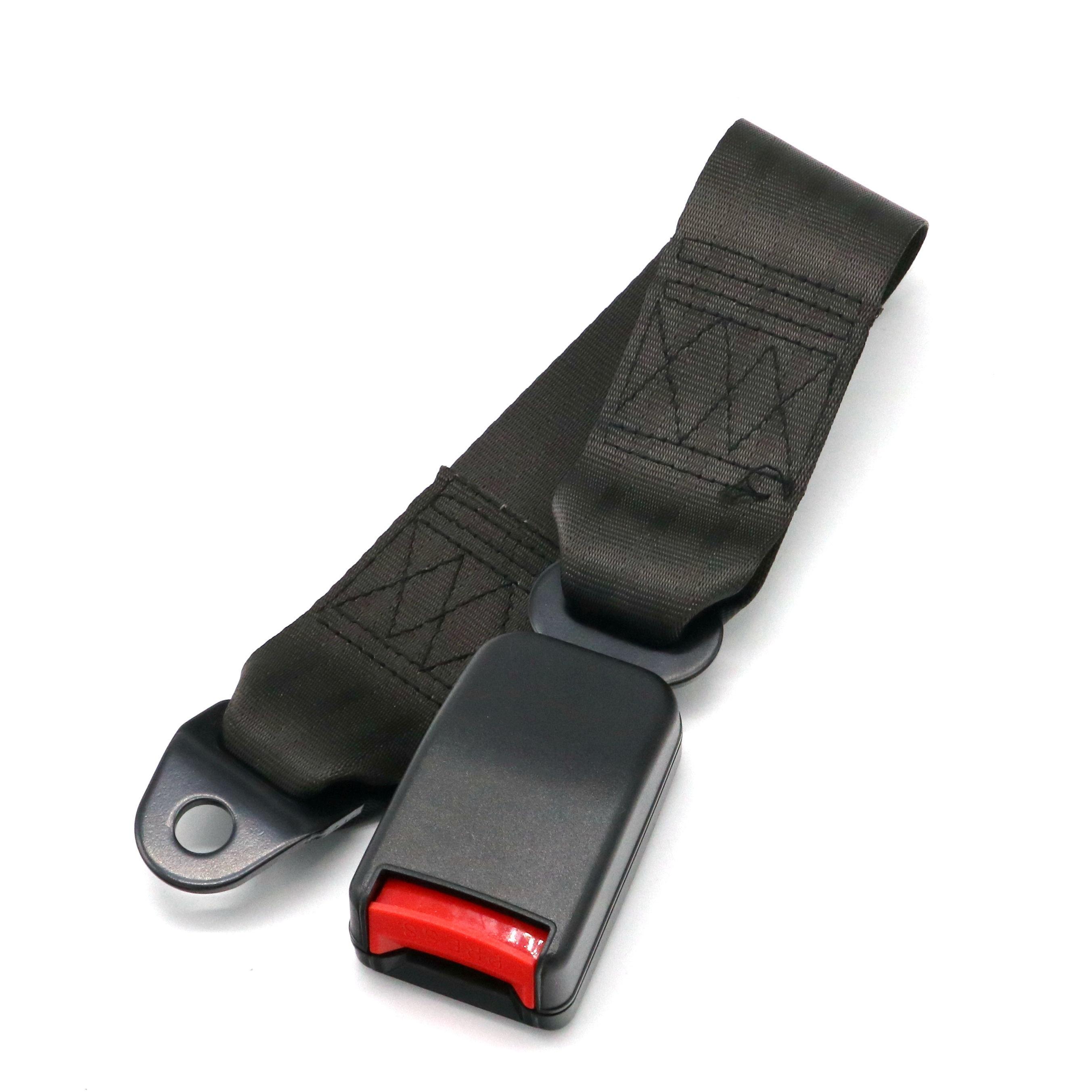 Universal Car Seat Belts Safety Belt Webbing Extender Auto Extension Buckle