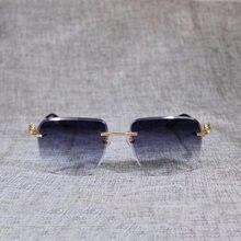 Солнцезащитные очки оверсайз для мужчин и женщин винтажные без