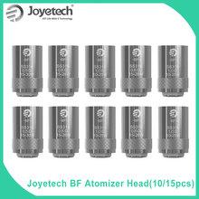 5 10 15 sztuk oryginalny Joyetech BF SS316 głowy 0 5 0 6 1 0ohm dla cubis ego aio elektroniczny papieros cewki pakiet sprzedaż tanie tanio Joyetech BF SS316 coils DS NC 16 3mm 40(g) 0 5 0 6 1 0 ohm
