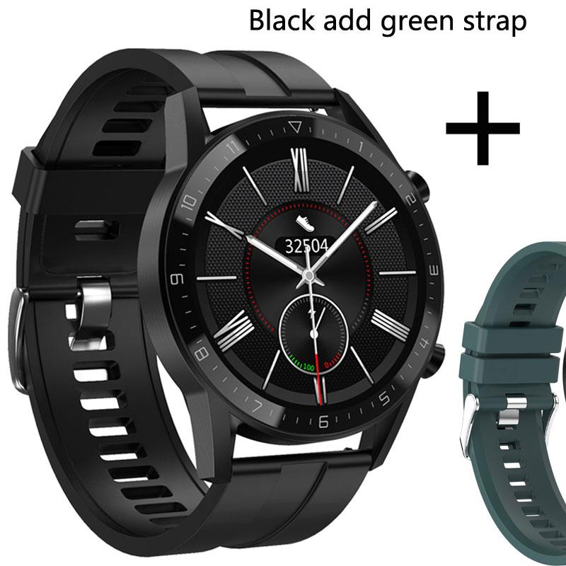 Add green strap