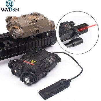 WADSN Airsoft LA-5 Red Laser IR Laser LED Flashlight Appearance Version LA5 IR Laser PEQ Red Laser Tactical Flashlight WEX396