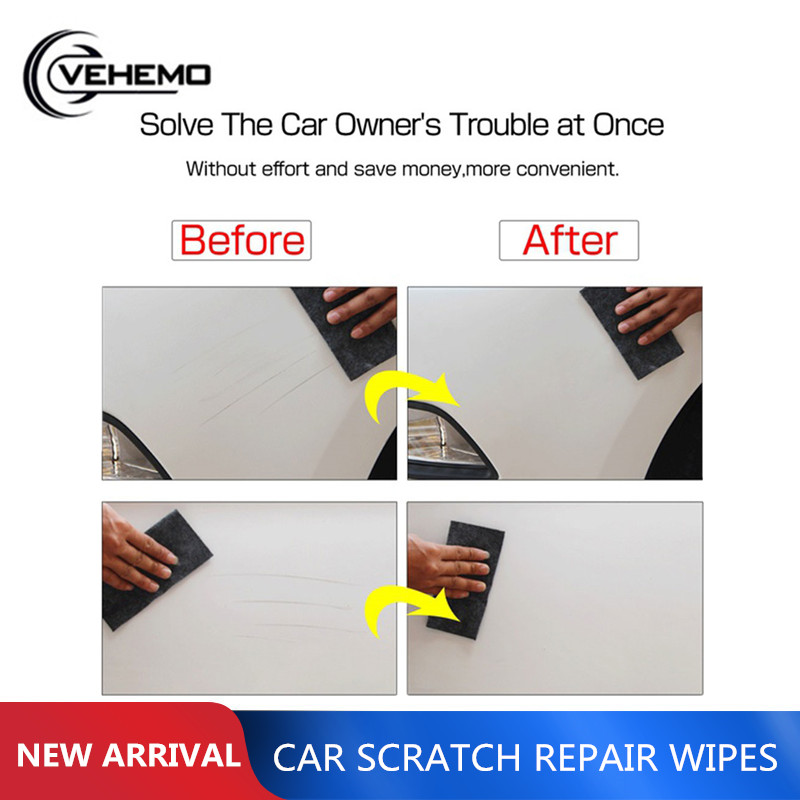 20x10CM Durable <font><b>Car</b></font> Scratch Polish Cloth Repair Cloth For <font><b>Car</b></font> <font><b>Light</b></font> Paint Scratches Remover Scuffs on Surface Repair Universal image