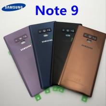 Note9 remplacement du verre arrière pour Samsung Galaxy Note 9 N960 N960F N960P SM N960F couvercle de la batterie boîtier de la porte arrière