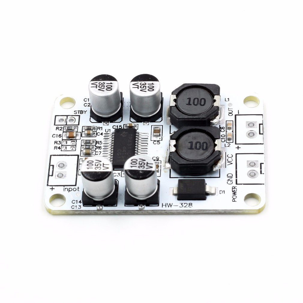 Tpa3110 Pbtl Mono Digital Power Amplifier Board 30W