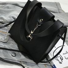 Retro Vintage Fashion Female Tote Bag 2019 New PU Leather Women's Designer Handbag Alligator Bucket Bag Shoulder Messenger Bag