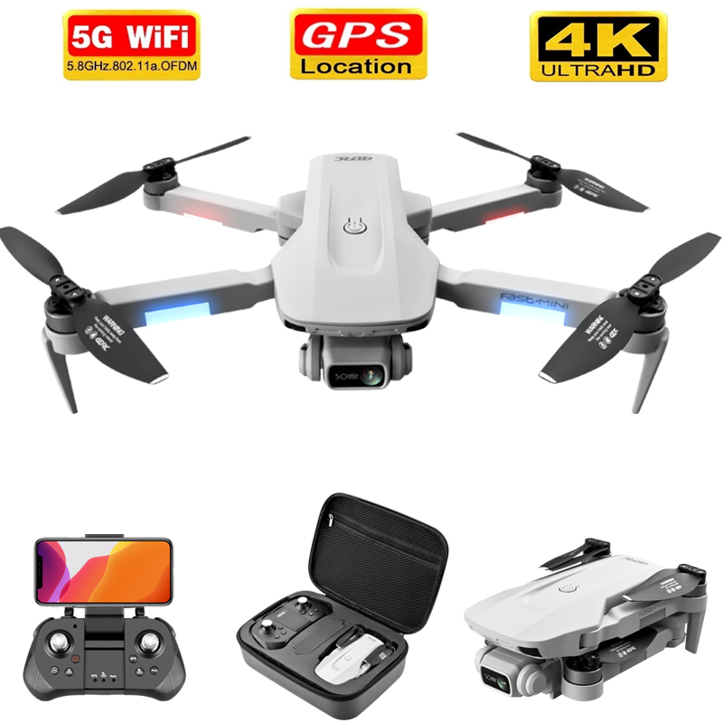 Permalink to F8 GPS Drone  5G HD 4K Camera Professional 2000m Image Transmission Brushless Motor Foldable Quadcopter RC Dron Gift