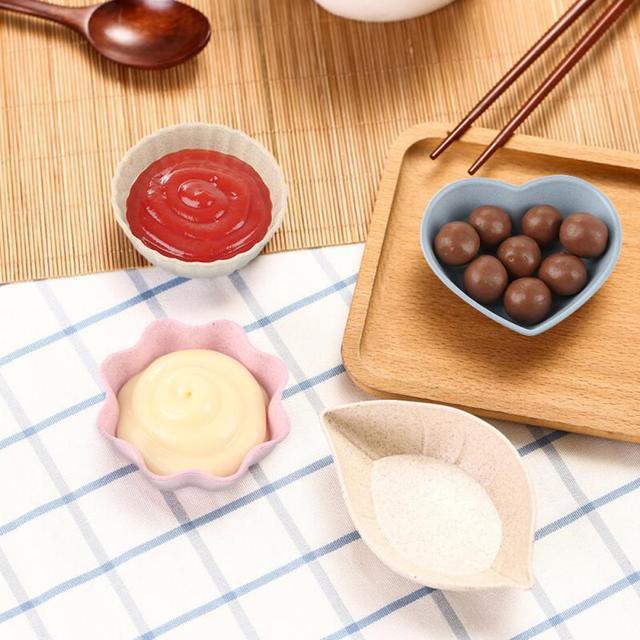 Multifunctional Seasoning Bowl Universal Sauce Oil Salt Sauce Vinegar Bowl Practica Household Plate Tableware Kitchen Accessorie 3