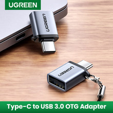 Ugreen USB C מתאם סוג C ל-usb 3.0 מתאם Thunderbolt 3 סוג-C מתאם OTG כבל עבור Macbook פרו אוויר Samsung S10 S9 USB OTG(China)