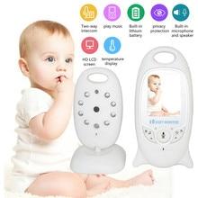 Neng 2.5 אינץ LCD אלקטרוניקה מצלמה 2 דרך שיחת טמפרטורת צג שירי ערש IR ראיית לילה אלקטרוני תינוק מצלמה