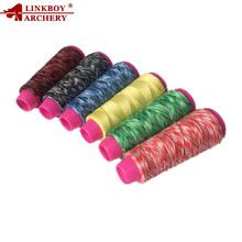 1pcs Linkboy Archery High Quality Bowstring Material 110m Recurve Bow Compound Bow String Rope Archery Accessory недорого