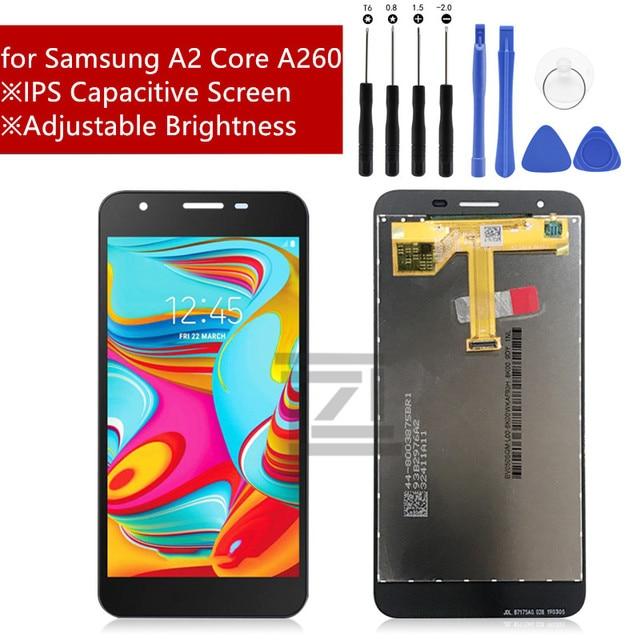 Per Samsung Galaxy A2 Core Display LCD Touch screen digitizer Assembly per la Galassia A260 SM A260F/DS A260F a260g LCD parti di riparazione