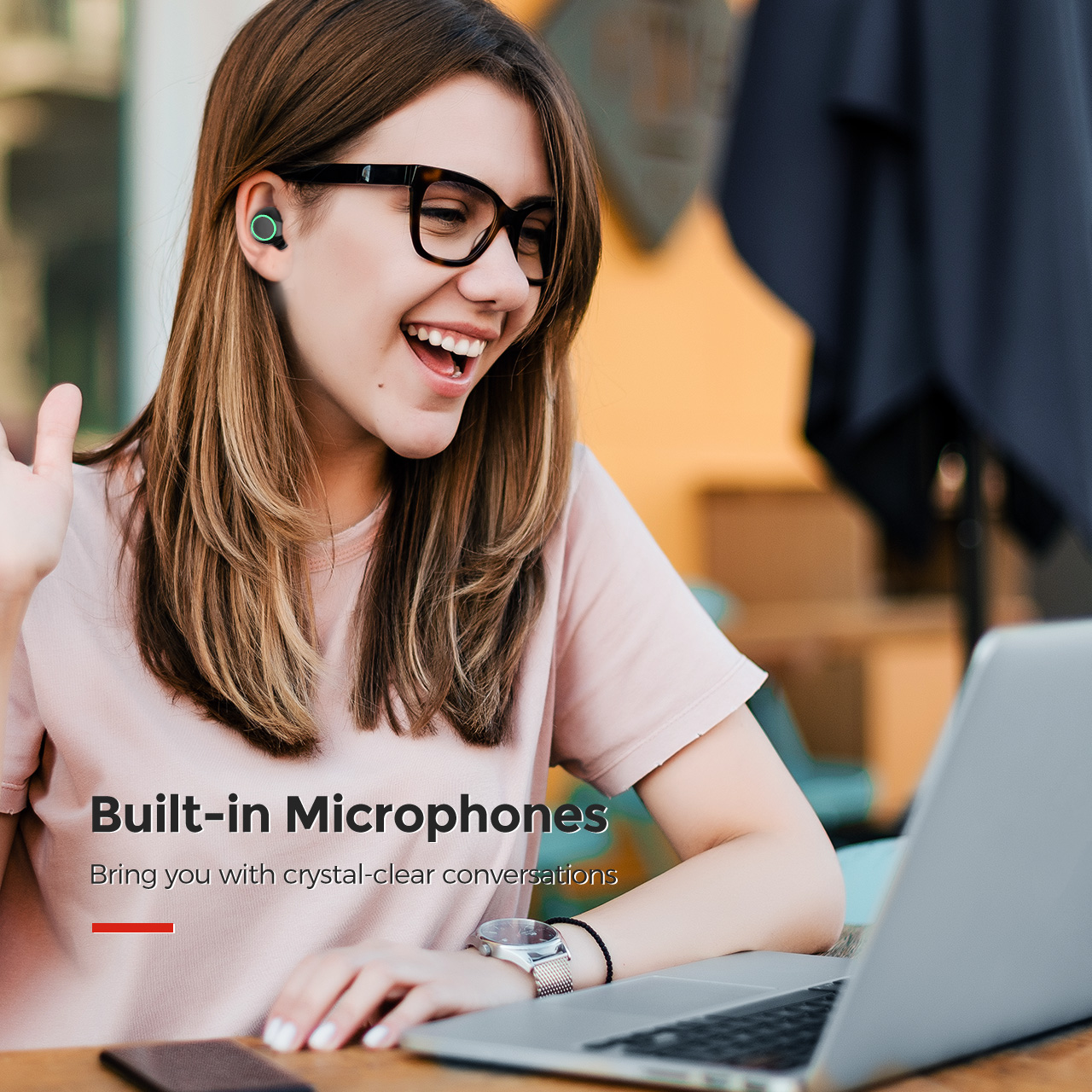 Mpow T6 True Wireless Bluetooth Earbuds 8