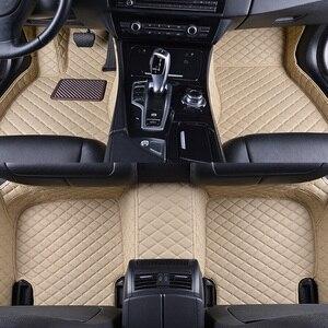 Для Ford Ranger 2020 2019 2018 2017 2016 2015 2014 2013 2012 автомобильные коврики кожаные коврики автомобильные аксессуары для интерьера