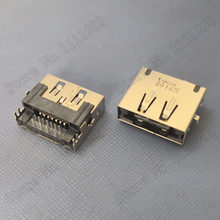 5 pçs/lote eSATA + USB Conector de alimentação para Toshiba Satellite L670D L675D etc Laptop