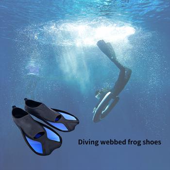 Flippers sporty wodne płetwy do pływania Snorkel elastyczne neoprenowe antypoślizgowe buty do pływania pływanie nurkowanie płetwy dla dorosłych sporty wodne tanie i dobre opinie CN (pochodzenie) Other Swimming Fins Submersible Fins Snorkeling fins Water Sports fins diving fin