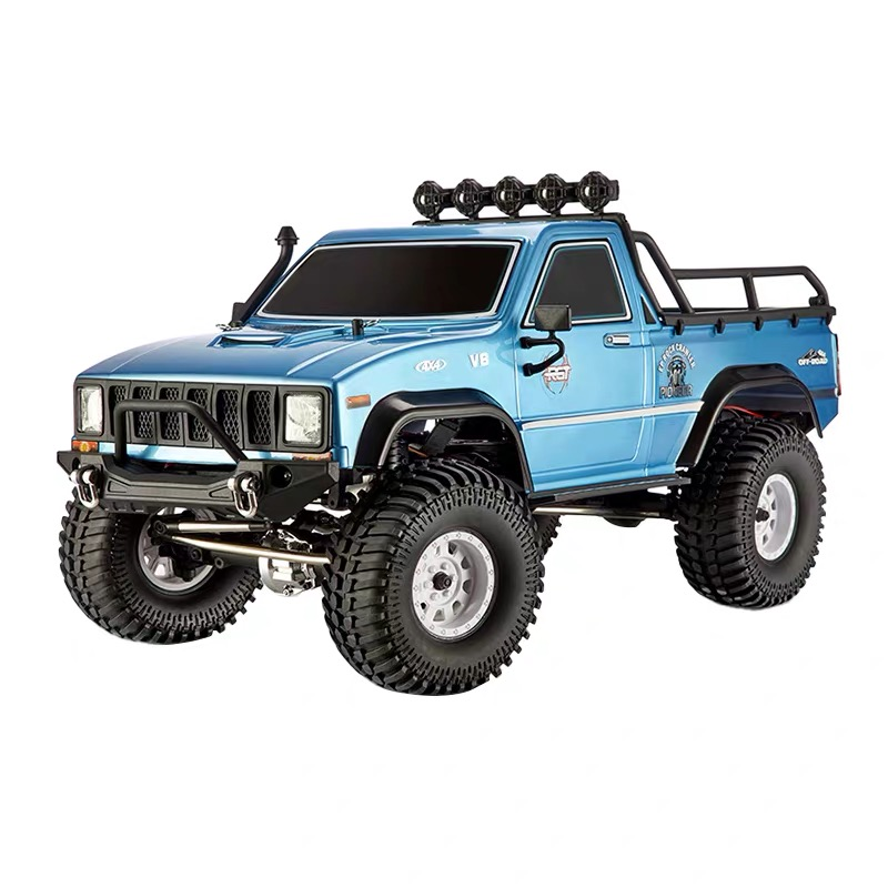New RGT RC CAR 1/10 Split Drive 4WD Realistic Pioneer Track EX86110 Rock RTR Offroad Monster Truck Remote Control Car Toy